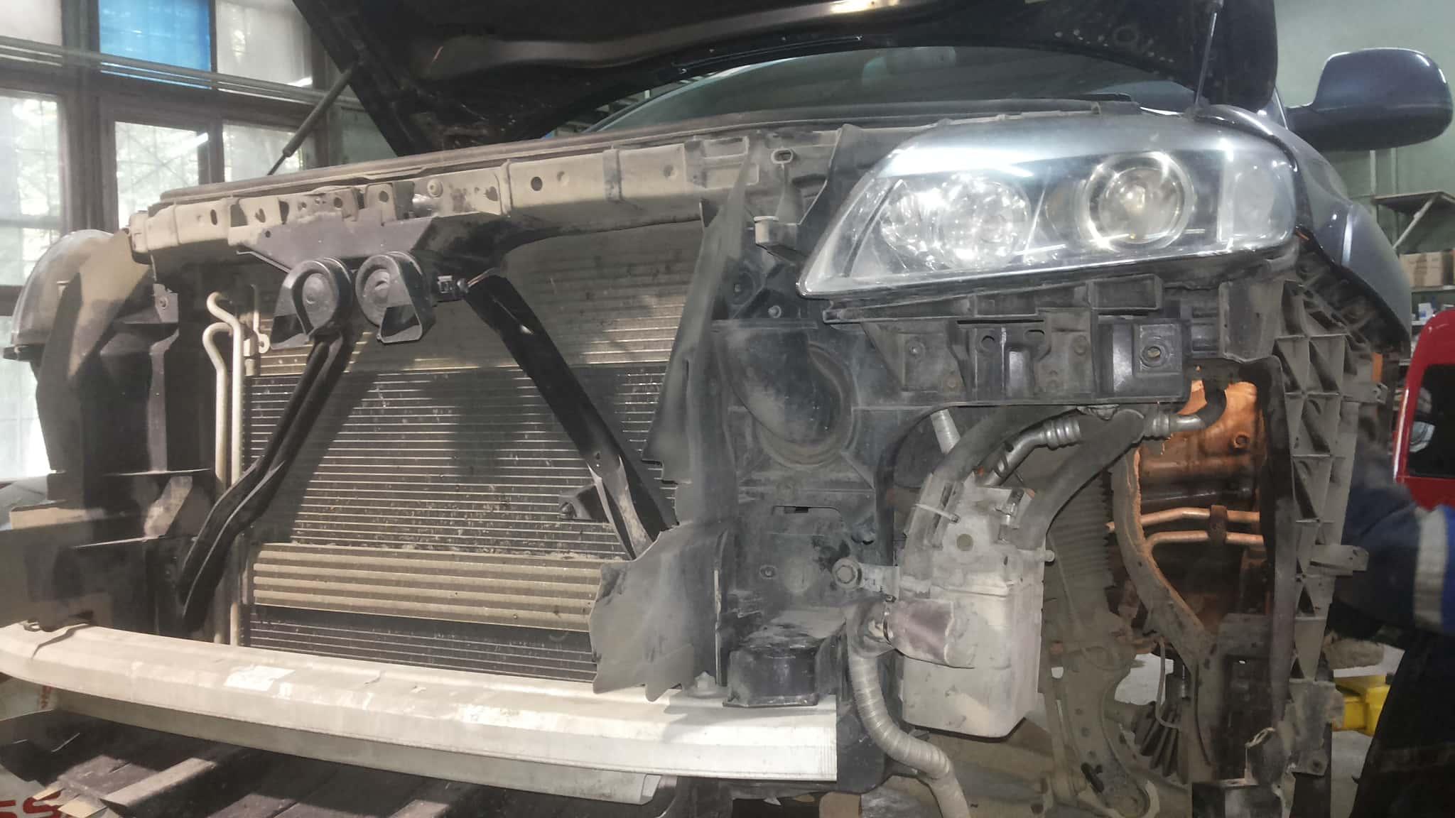 Установка вебасто Audi Q7