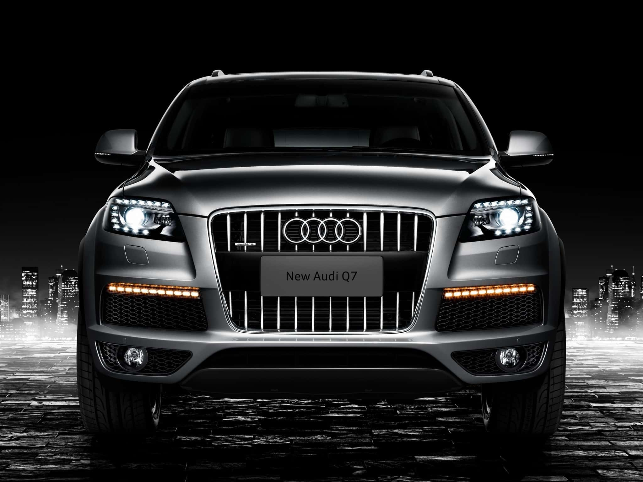 установка Webasto Audi q7